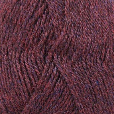 DROPS Alpaca 3969 rood/paars mix op=op uit collectie