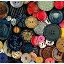 Knoop 15 mm metaal brons - 531