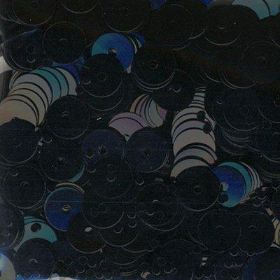 Pailletten 6 mm - Zwart
