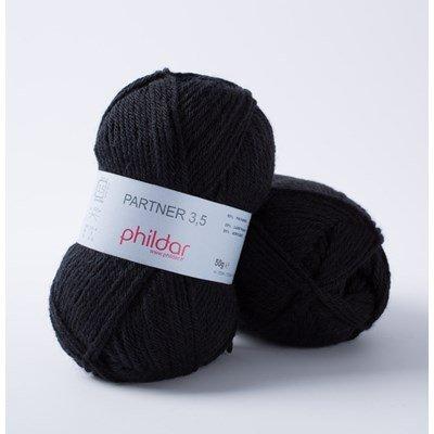 Phildar Phil Partner 3,5 Noir