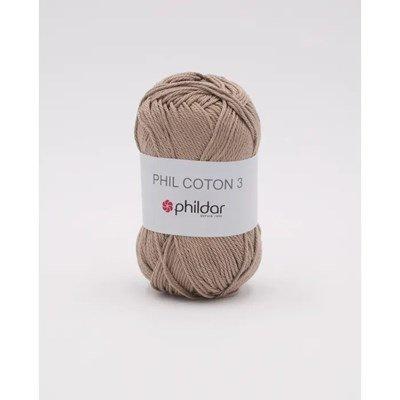 Phildar Phil coton 3 Chanvre