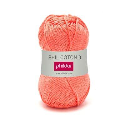 Phildar Phil coton 3 Corail