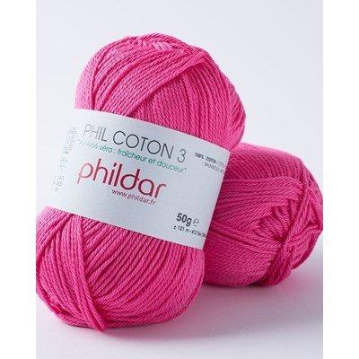 Phildar Phil coton 3 Oeillet
