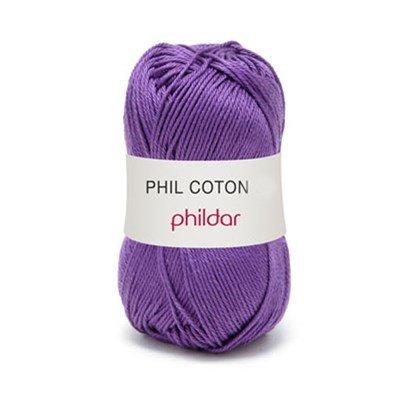 Phildar Phil coton 3 Violet