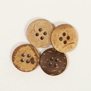 Knoop 15 mm kokos - 516