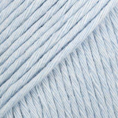 DROPS Cotton light 08 ijsblauw