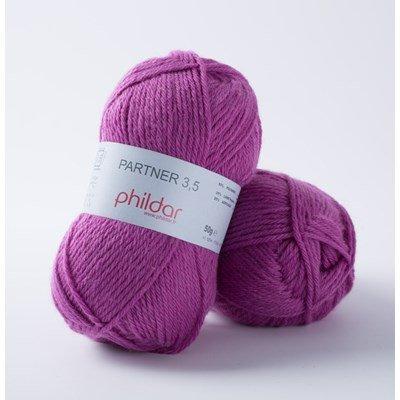 Phildar Phil Partner 3,5 Fuchsia 21 op=op uit collectie