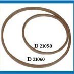 Ring hout 105 mm blank plat