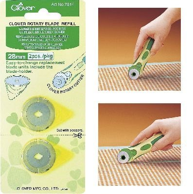 Clover 7514 Rotary cutter snijblad 28 mm