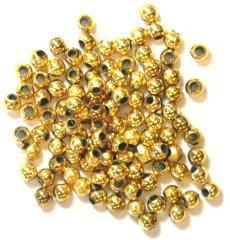 Kraal 3 mm - goud