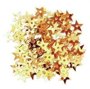 paillet ster 6 mm - goud*