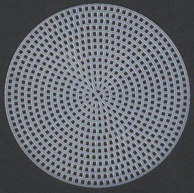 Plastic canvas rond 100 mm
