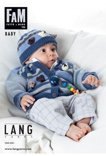Lang Yarns magazine 196 baby - peuter maat 56 t/m 104