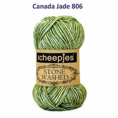 Scheepjes Stone Washed XL - 846 canade jade