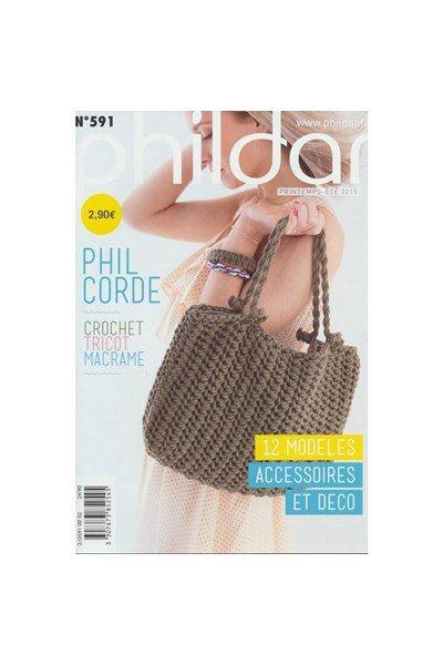 Phildar nr 591 - Phil corde 10 modellen (op=op)