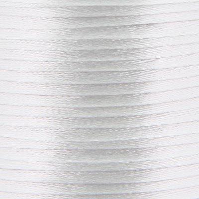 Satijnkoord 2 mm 029 wit - Kumihimo 5 mtr