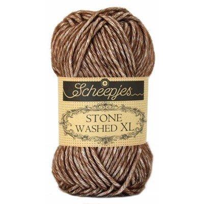 Scheepjes Stone Washed XL - 862 brown agate