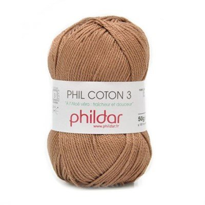 Phildar Phil coton 3 Cappucino