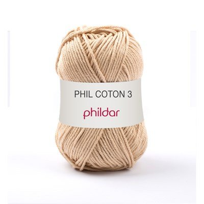 Phildar Phil coton 3 Seigle