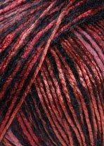 Lang Yarns Celine 924.0061 roodoranje zwart op=op