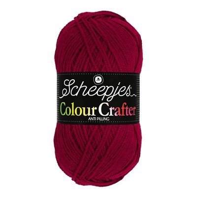Scheepjes Colour Crafter 1123 Roermond - rood donker