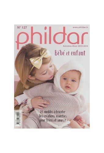 Phildar nr 127 kinderen 2015-2016 patroonblad (op=op)