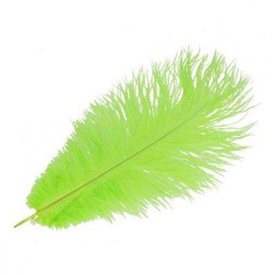 Veer 35 cm ca - lime groen