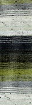 Lang Yarns Jawoll Magic 6-draads 89.0003 olijf ecru antraciet