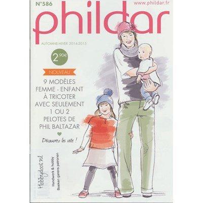 Phildar nr 586 9 modellen van Phil Baltazar p