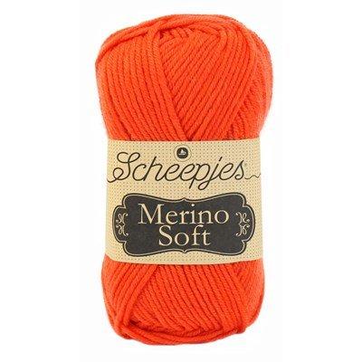 Scheepjes Merino soft 620 Munch - fel oranje
