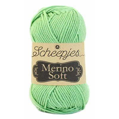 Scheepjes Merino soft 625 Kaninsky - licht groen