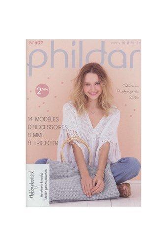 Phildar nr 607 14 modellen voor haar