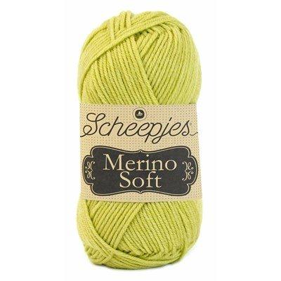 Scheepjes Merino soft 629 Constableh - geel groen