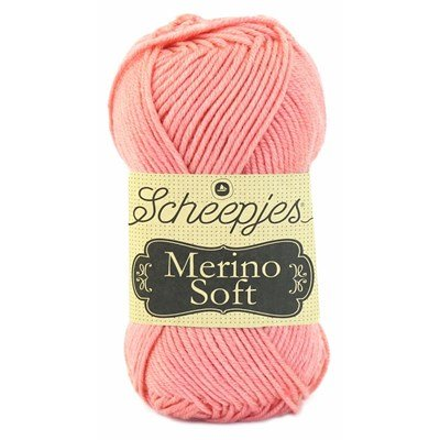 Scheepjes Merino soft 633 Benett - roze zalm