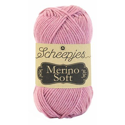 Scheepjes Merino soft 634 Copley - oud roze