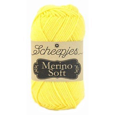 Scheepjes Merino soft 640 Warhol - fel geel