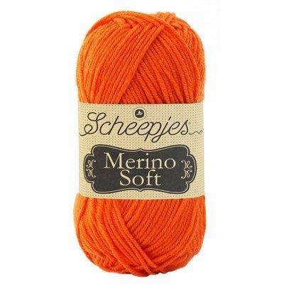 Scheepjes Merino soft 645 van Eyck - fel oranje