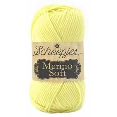 Scheepjes Merino soft 648 de Goya - licht geel