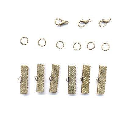 Sieradensluiting 25 mm brons - 4970010007