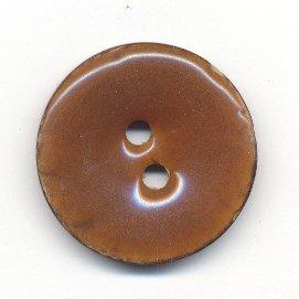 Knoop 34 mm bruin