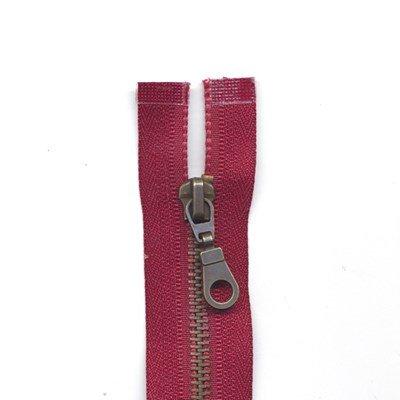 Rits deelbaar 40 cm - 750 donker rood