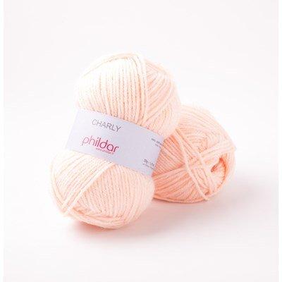 Phildar Charly Poudre 0057 - 1464 - roze huidskleur op=op uit collectie