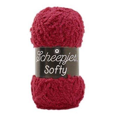 Scheepjes Softy 490 warm rood