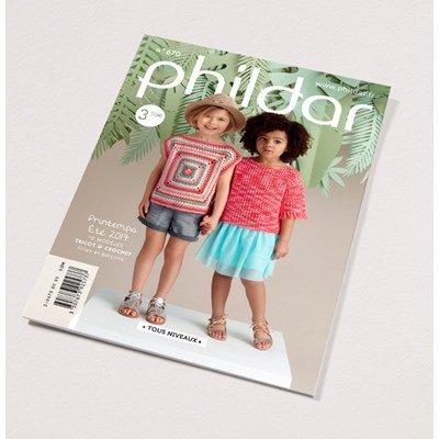 Phildar nr 670 12 modellen voor kinderen van 4 tot 10 jaar op=op uit collectie