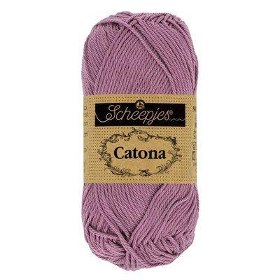 Scheepjes Catona 240 amethyst 50 gram - oud paars