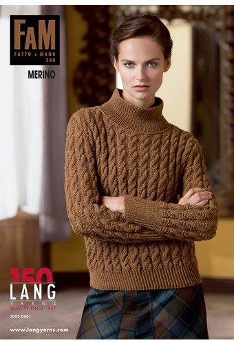 Lang Yarns magazine 248 Merino