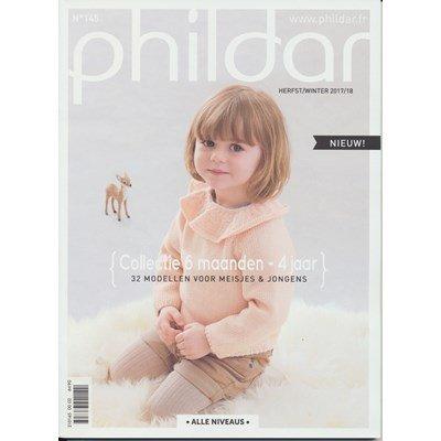 Phildar nr 145 32 modellen voor jongens en meisjes 6 mnd t/m 4 jaar p