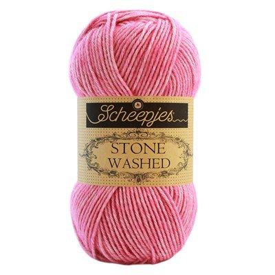 Scheepjes Stone Washed 836 - zuurstok roze