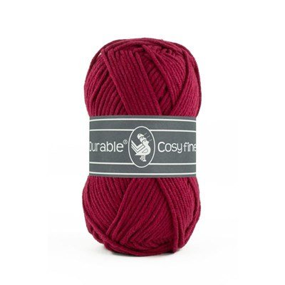 Durable Cosy fine 0222 Bordeaux