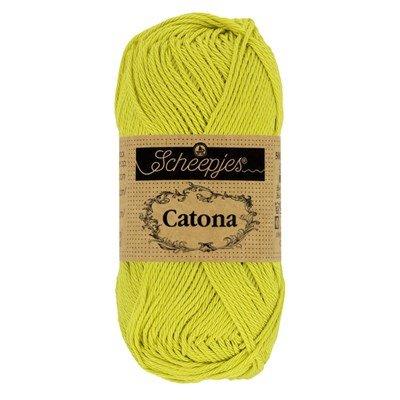 Scheepjes Catona 245 Green Yellow 50 gram